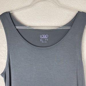 LOGO Layers Gray Grey Tank Top XL